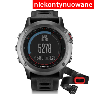 Garmin Fenix 3 Grey Performer Bundle [010-01338-11]