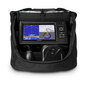 Garmin  echoMAP CHIRP 72cv + Panoptix Ice Fishing Bundle